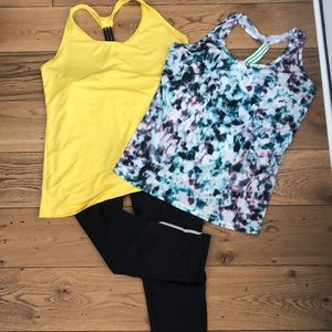Old Navy Workout crops and tanks